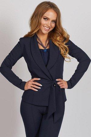 Жакет темно синий 50-52