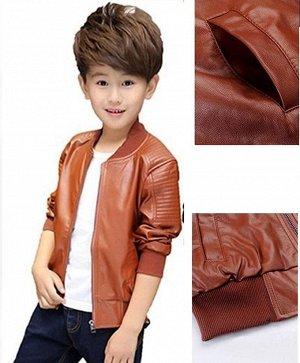 Куртка детская цвет: КОРИЧНЕВЫЙ