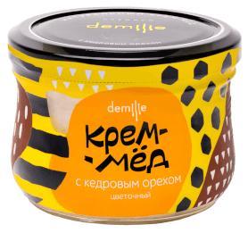 Крем-мед Демилье с Кедровым орехом 250 мл