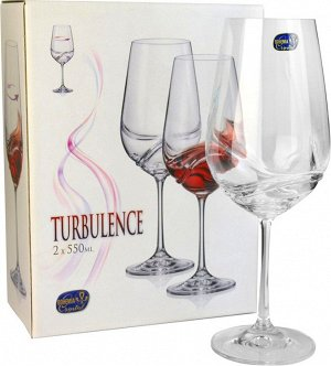 """""""Турбуленция"""" Набор бокалов для вина 2шт, 550мл 40774 550 2"""