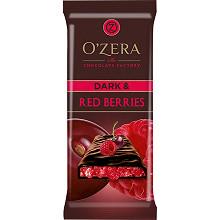 «OZera», шоколад горький Dark & Red berries, 90 г