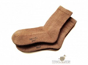 Теплые носки из шерсти двугорбых верблюдов
