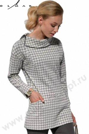 Блуза 73% вискозы, очень приятная к телу и тепленькая