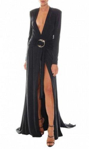 Платье Богиньское платье, обалденно приятная на ощупь ткань, как вторая кожа, делает очень красивый силуэт независимо от фигуры, сзади шлейф, платье прям для вау эффекта. При желании можно сделать чут