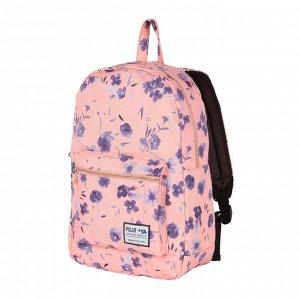 Рюкзак Рюкзак  имеет стильные цветочные принты и несомненно понравится девушкам. Рюкзак свободно вмещает формат А4, объем рюкзака также позволяет его использование в поездках. Внутри рюкзака одно отде