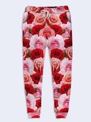 Брюки Букет роз