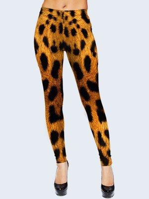 Лосины Леопардовый окрас