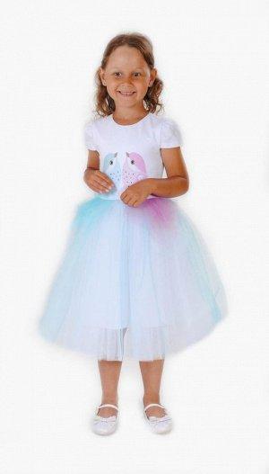 Нарядное платье для девочки FLEUR DE VIE