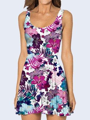 3D платье Цветочная композиция