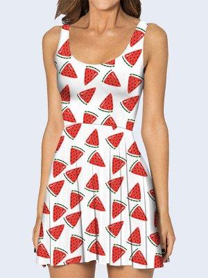 3D платье Арбузики