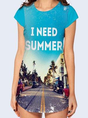 Туника Мне нужно лето