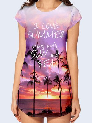Туника Enjoy with sun and sea