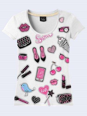 3D футболка Женские штучки