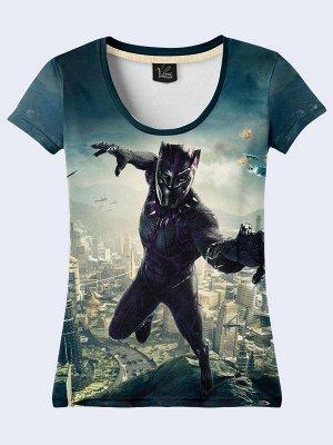 3D футболка Фильм Чёрная Пантера