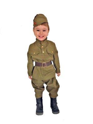 Солдат малютка 1-2 года 1-2 года рост 82-92 см