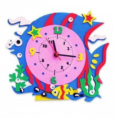 Витражные пленки для декора, товары для дома — ⭐ Детские часы своими руками 3+