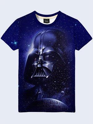3D футболка Дарт Вейдер и звёзды