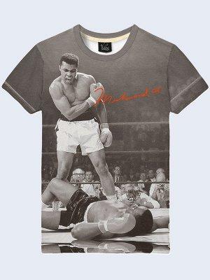 3D футболка Боксёр Muhammad Ali