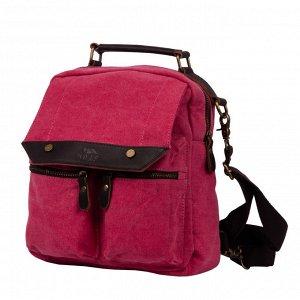 Рюкзак 26 х 28 х 10,Внутри два открытых кармана и карман на молнии. Спереди под декоративным клапаном два накладных кармана на молнии. Сзади рюкзака карман на молнии. Регулируемые лямки крепятся к рюк