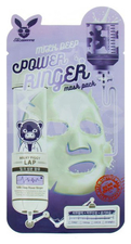 Elizavecca Milk Deep Power Ring Mask Pack Увлажняющая и тонизирующая молочная тканевая маска для лица 23мл