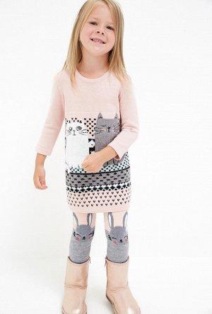 Платье детское для девочек Malachite светло-розовый