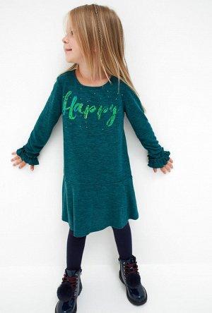 Платье детское для девочек Estela зеленый