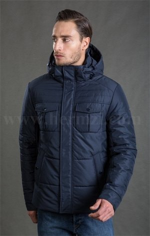 Утепленная мужская куртка Hermzi, цвет Navy Синий
