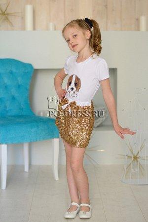 Комплект футболка+юбка