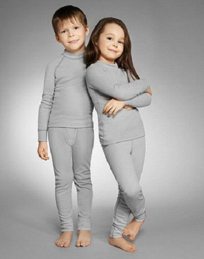 ✔D-98💦Водонепроницаемая коллекция одежды⚡+ Зима☃ — Термобелье детское — Для детей
