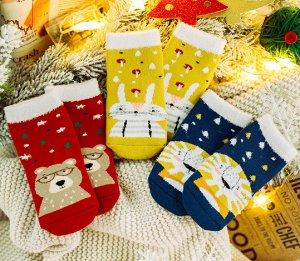 Носки детские махровые/набор 3шт