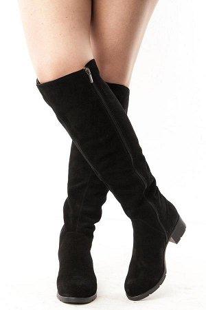 Ботфорты Тип: Ботфорты на полную ногу Материал верха: натуральный велюр Подошва - ТЭП  Байка  Объем голенища 40 см в 36/37 размере, 41 см в 38/39 размере, 42 в 40/41 размере. Объем голенища указан без