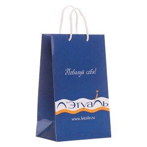 Подарочный пакет Лэтуаль 24х15 см маленький