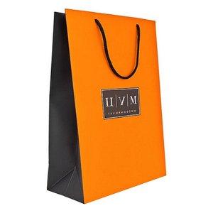 Подарочный пакет ЦУМ 24х15 см маленький
