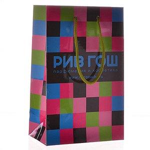 Подарочный пакет Рив Гош 24х15 см маленький