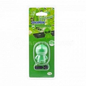 "Ароматизатор воздуха ""MENTOS"" Mr. Pilot (GREEN APPLE) на дефлектор MNT101"