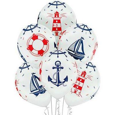 №164=✦Территория праздника✦ -организуем праздник сами.Шарики — Шары Круглые с рисунком латексные — Воздушные шары, хлопушки и конфетти