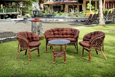 Ротанг №86-3. Любимая плетеная мебель.    — Комплекты садовой мебели  — Садовая мебель