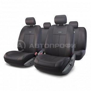 Чехлы на сиденья универсальные серия TT TT-902P BK/BK