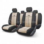 Чехлы на сиденья универсальные серия TT TT-902V BK/L.BE