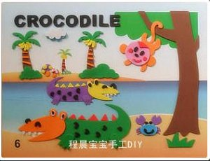 Крокодил Размер 29*21 см.