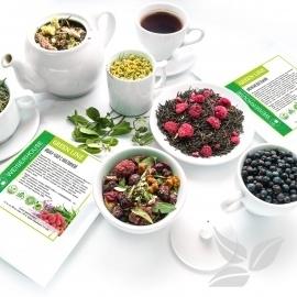 """Чай прессованный от 17 руб. с фрукт. и ягодами.  Новинки — """"GREEN LINE"""" - травяные сборы и снеки — Чай"""