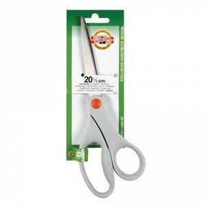 Ножницы KOH-I-NOOR, 205 мм, эргономичная форма, серые ручки,