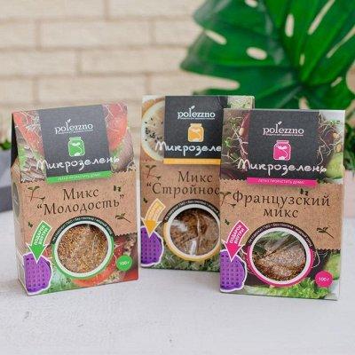 Натуральные продукты ТМ Полеззно (Быстрая!) -  35 — Микрозелень — Диетическая бакалея