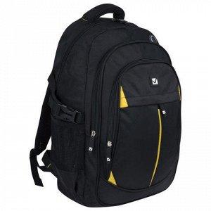 Рюкзак BRAUBERG для ст.классов/студентов/молодежи, Титаниум,
