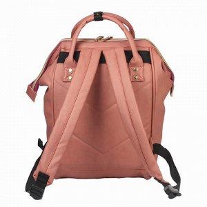 Рюкзак BRAUBERG молодежный, Корал, искуств. кожа, 34х23х15 с