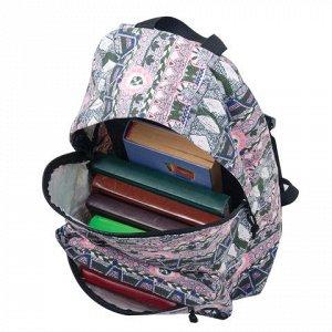 Рюкзак BRAUBERG универсальный, сити-формат, коричневый котто