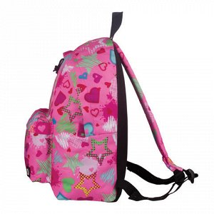 Рюкзак BRAUBERG универсальный, сити-формат, розовый, Мечта,