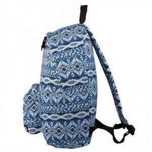 Рюкзак BRAUBERG универсальный, сити-формат, синий коттон, Ис