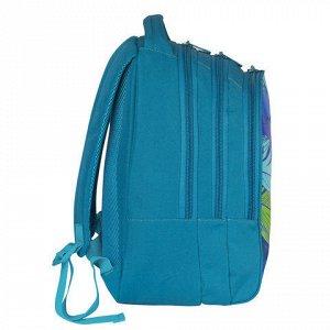 Рюкзак GRIZZLY для средних/старших классов, девочка, Перья,