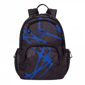 Рюкзак GRIZZLY для старш.классов/студентов/молодежи, Штрихи,